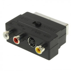 RGB Scart Mand the S-video and 3 RCA Audio Adaptor