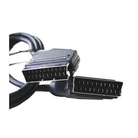 Image of   20 Pin SCART til SCART-kabel Kabel til DVD / HDTV / AV / TV, Kabel længde: 1.5m