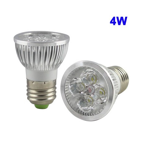 Image of   4W høj kvalitet LED Energy Saving Spotlight Bulb, Base type: E27