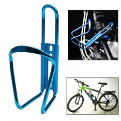 Bærbar drikkebæger Vand flaskeholder Holder Flaske Carrier Beslag Stand to cykel (blå)