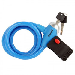 TONYON Kobber Security Bicycle Lock Set (blå)