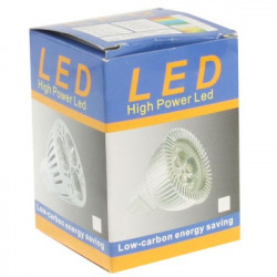 3W high quality LED Energy Saving Spotlight Bulb, Base type: GU10