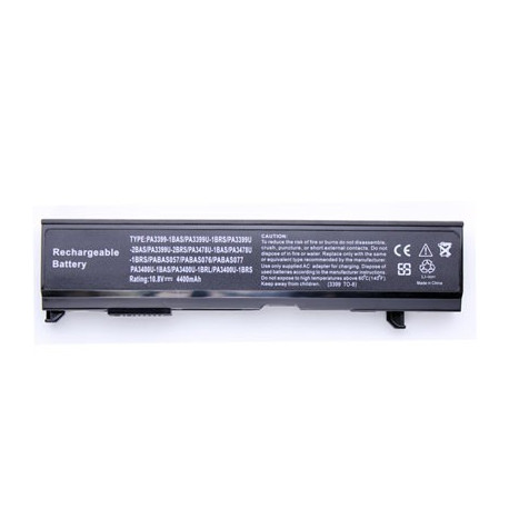 4400mah 10.8v 6 cellers batteri til toshiba pa3399u-2brs fra N/A fra olsens it aps