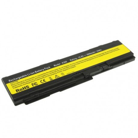 N/A – 3600mah 10.8v 6 cellers bærbar batteri til thinkpad x300 / x301 fra olsens it aps