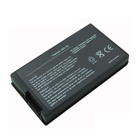 Image of   4400mAh 6 cellers batteri til Asus A8