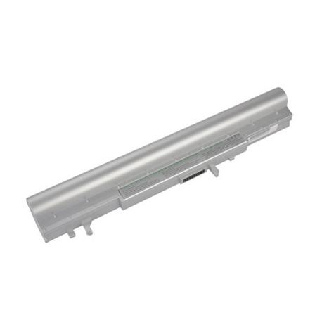 N/A 4400mah 14.8v 8 cellers bærbar batteri til asus a42-w3 / a41-w3 / w3000 / w3a (sølv) fra olsens it aps