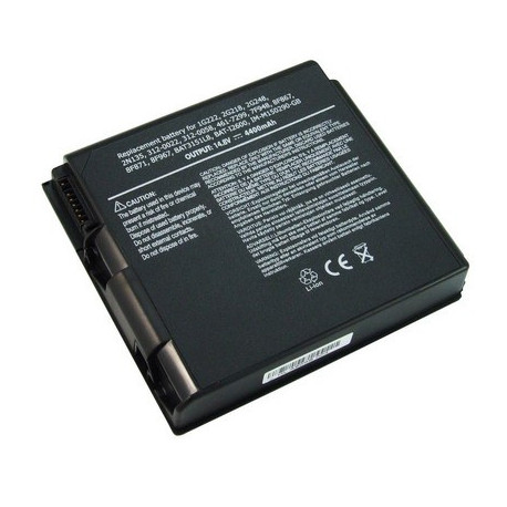 Image of   4400mAh 8 cellers batteripakke til DELL D2650
