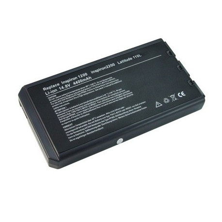Image of   4400mAh 8 cellers batteripakke til DELL D1200