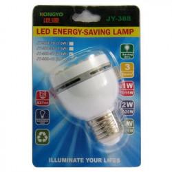 Hvid 37 LED Skrue lampe Pære Spotlight 2W