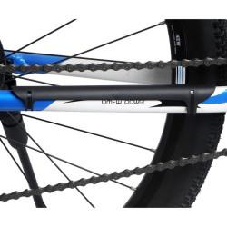 Mountainbike kædebeskytter i plastik (Sort)