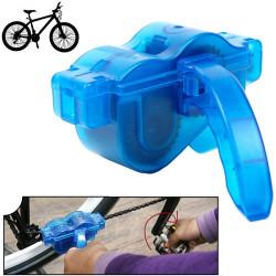 Rense-sæt til cykelkæden (Blå)