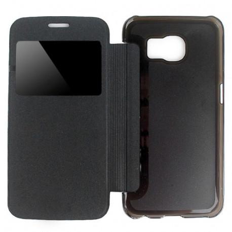 Image of   Læder med vindue til Samsung Galaxy S6 / G920
