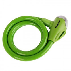 TONYON Kobber Security Bicycle Lock Set (Grøn)