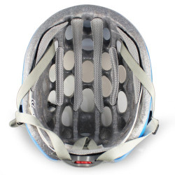 MTB / Greenroad Outdoor Bike Cykel Cycling Helmet + Visor, LW-822 (blå)