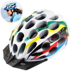 MTB / Greenroad Outdoor Bike Cykel Cycling Helmet + Visor, LW-822