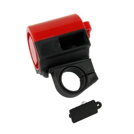 Image of   360 graders roterende elektronisk horn til cyklen (Rød)