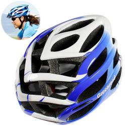 MTB / Greenroad Outdoor Bike Cykel Cycling Helmet + Visor, LW-850 (blå)
