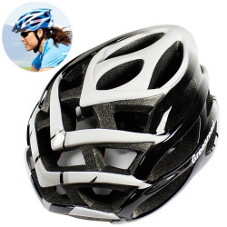 MTB / Greenroad Outdoor Bike Cykel Cycling Helmet + Visor, LW-850 (sort)