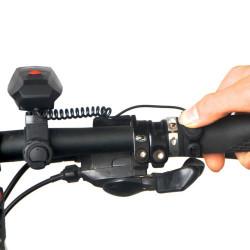 OQSPORT 110DB Super Loud Cykling Cykel Elektronisk Alarm Bell Vandtæt IP4 Siren Horn højttaler