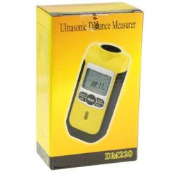 3 i 1 (Ultrasonic afstand meter + Laser Punkt + Level Controller) (DM220)