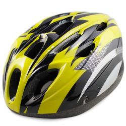 MTB / Greenroad Udendørs Cykel Cykling Hjelm + Visir, LW-811 (gul)