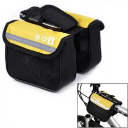 BOI Cykel Top Tube Dobbelt taske (gul)