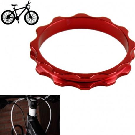 Image of   10 mm Aluminum afstandsstykke til cyklen, Rød (D04)