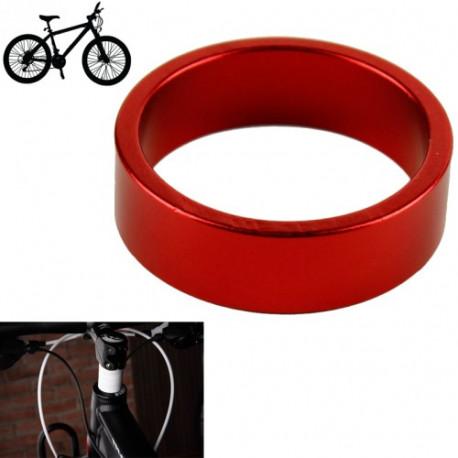 Image of   5 mm Aluminium afstandsstykke til cyklen, Rød (D01)