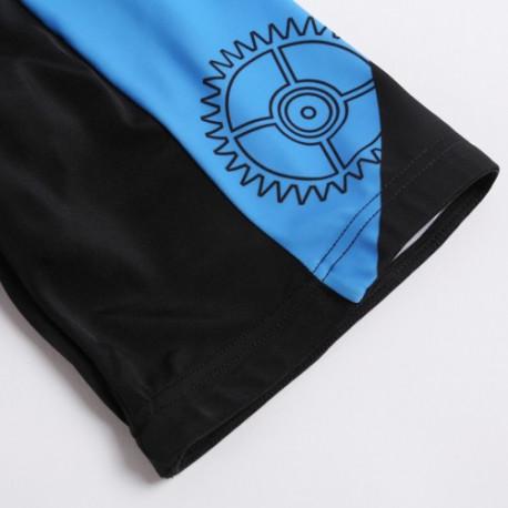 Kortærmet cykeltrøje + shorts sæt til mænd (størrelse: xxxl) fra N/A på olsens it aps