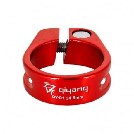 N/A – Yd172 aluminum legerings sadelspænde til cyklen, diameter: 34.9mm (rød) på olsens it aps