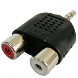 RCA hun to 3,5 mm jack-Audio Y-adapter