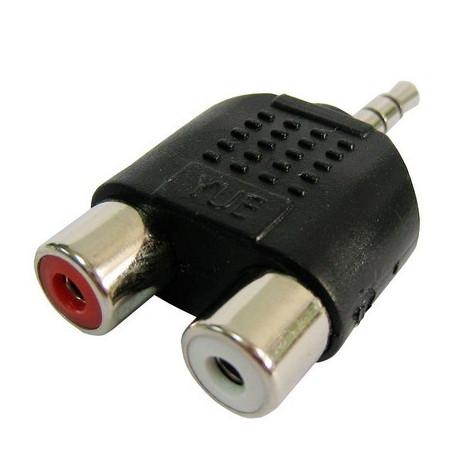 N/A – Rca hun til 3,5 mm jack-audio y-adapter på olsens it aps