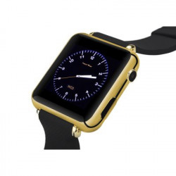 Bluetooth Smart Watch (Guld), 32GB Micro SD