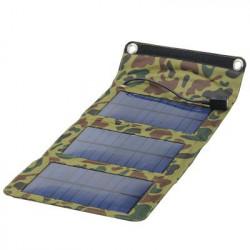 Vejrbestandig camouflage mønstret foldbart solarpanel med USB oplader
