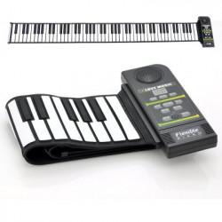 """Fleksibelt """"Roll Up"""" Synthesizer Klaver - 88 bløde taster, inkl. højttaler"""