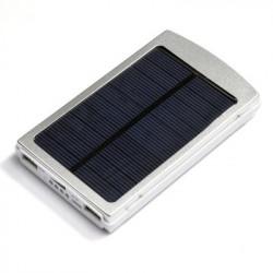 Solar Power Bank - 10000mAh, 2X USB OUT