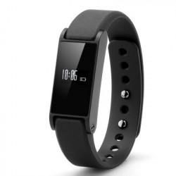 Bluetooth 4.0 armbånd til Android / Apple-enheder med trappe-, kalorie-tæller, søvnovervågning, m.m. og LCD-display