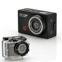 """Wi-Fi-Sportskamera """"SportsCam"""" - med fjernbetjening, Full HD 1080p, 5 megapixel CMOS-sensor, Vandtæt"""