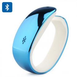Y02 Bluetooth LCD Smart armbånd med skridttæller, søvnovervågning, håndfri, telefonbog synkronisering, m.m.(Blå)