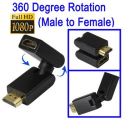 HDMI 19-pin Roterbar Adapter