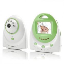 Babymonitor med tovejs audio optagelse og temperatur-Alarm
