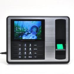 Fingerprint dørlås - 4 tommers TFT skærm med 1000 fingerprint kapacitet