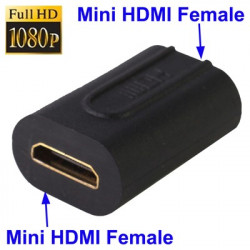 Mini HDMI Hun til Mini HDMI Hun adapter