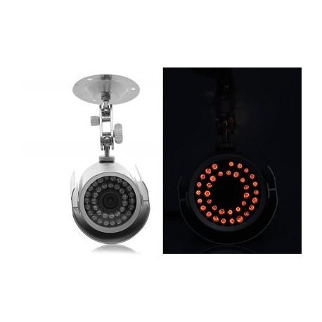 Image of   4 kamera + DVR Overvågningssystem - 4x 1/3 SONY farve CCD 420TVL Udendørs CCTV-kameraer, H.264 Video kompression