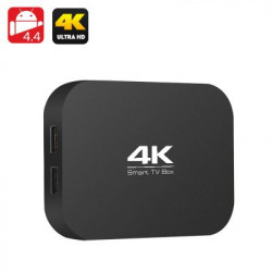 A400 H3 4K Quad Core TV Box - All Winner H3 1,2 GHz CPU, 1GB RAM, OTG, Miracast, DLNA, Airplay, SD-kort slot, Android 4.4
