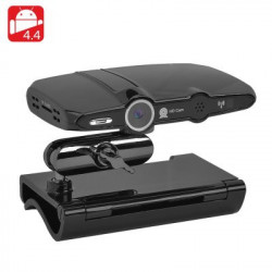 Android TV boks + Videokamera - 2MP Kamera, 4K understøttelse, 1080P resolutioner, Kodi 16.1, Quad Core CPU