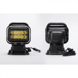 Bil LED søgelys - 7 tommer, 50W, 3200 Lumens, 10x 5W Cree XT E lysdioder, IP65 Stænksikkert, 360 graders rotation