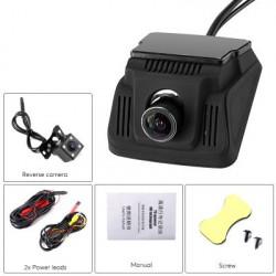 Bilkamera (sæt til forrude og bagrude)