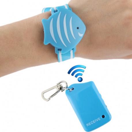 Image of   Armbånd Anti-Lost Alarm, Beskyttelse af værdigenstande/bagage/ barnet på det offentlige sted!!