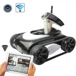 Trådløs Wifi Control RC Tank Toy med bevægende kamera - Kontrolleret af iPhone iPad iPod